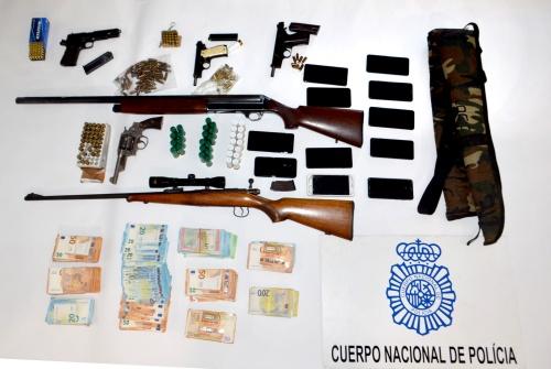 Drogas, armas y 18 detenidos en la Operación Taifa en San Cristobal