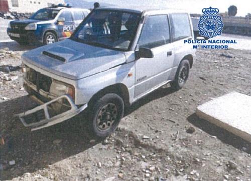 Un detenido y recuperado un vehículo usado para un delito en El Ejido