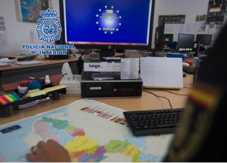 Detenido en Almería un alemán reclamado por delito contra la confianza pública, estafa, fraude y falsificaciones