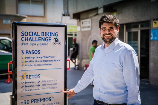 La Semana de la Movilidad reta a los roqueteros a montar en bici