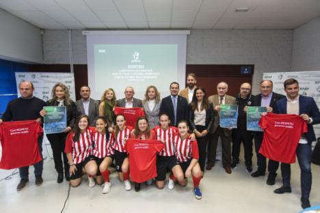 El Moisés Ruiz acoge el sorteo de los Campeonatos de Andalucía de fútbol femenino