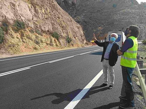 Abre la carretera de El Cañarete