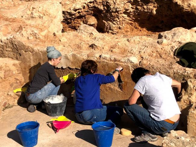 Intervención arqueológica en la ladera del Cerro de San Cristóbal,