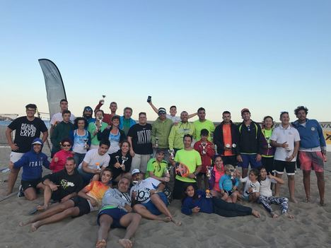 La II Copa Níjar de Tenis Playa recaló en San José