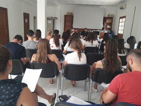 Jóvenes de Oria, Tabernas y Vélez Blanco se forman como monitores y dinamizadores gracias a Diputación