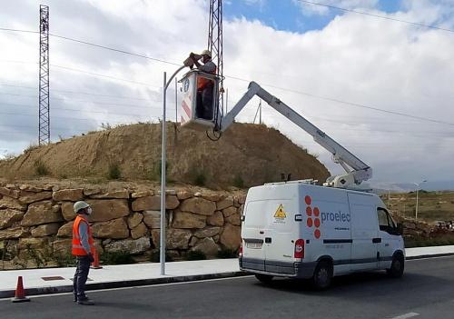 Diputación impulsa el empleo en Almería reactivando las obras