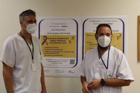 El Hospital de Poniente organiza un taller virtual sobre la psoriasis