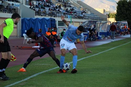 El CD El Ejido salta al liderato tras doblegar al Yeclano Deportivo (2-0)