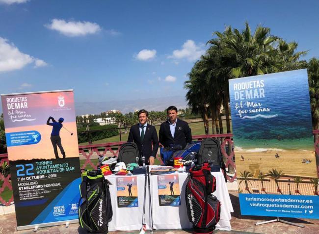 130 participantes en el XXII Torneo de Golf Ayuntamiento de Roquetas de Mar