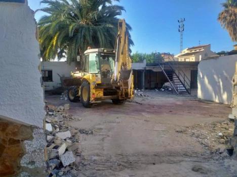 """Arrancan la mejora en el recinto ferial de """"El Palmeral"""" de Vera"""