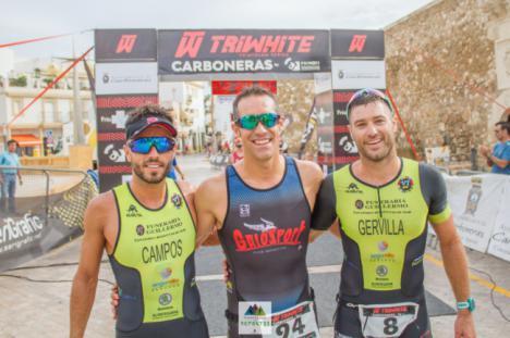 Germán Rodríguez García y Raquel Úbeda Fernández ganan de la tercera prueba del Triwhite Cup de Carboneras