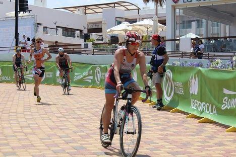 1000 triatletas en el Campeonato de España celebrado en Pulpí