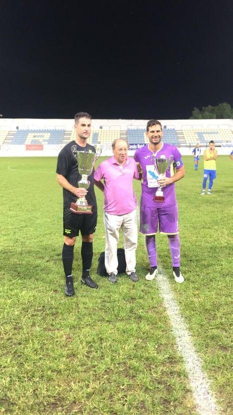 Los celestes logran el Trofeo Ciudad de Motril