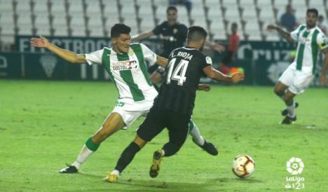 1-0: El Almería acabó en Córdoba con su racha de victorias en la Liga