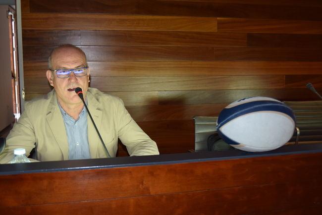 Miguel Palana echa una mirada atrás de 30 años en el rugby