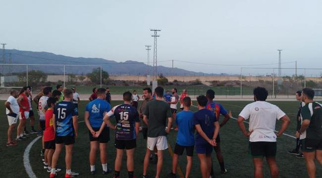 Nacho Pastor analiza el calendario la nueva temporada de Unión Rugby Almería
