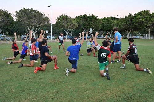 Ocho caras nuevas en Unión Rugby Almería Playcar