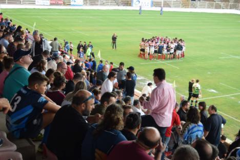 Debut de Unión Rugby Almería frente a Jaén