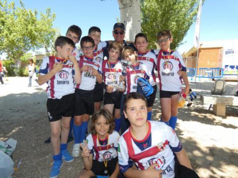 El Sub-10 de URA se exhibe en su primer Campeonato de España