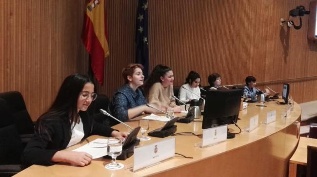La voz de los niños y adolescentes de Huércal-Overa llega al Congreso