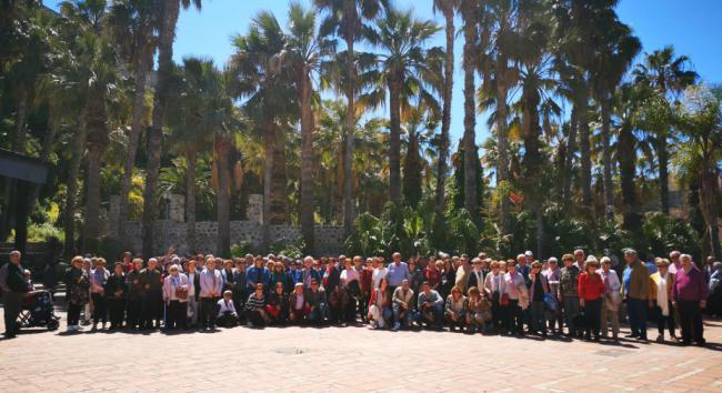 Trescientos mayores nijareños han visitado la Costa Tropical
