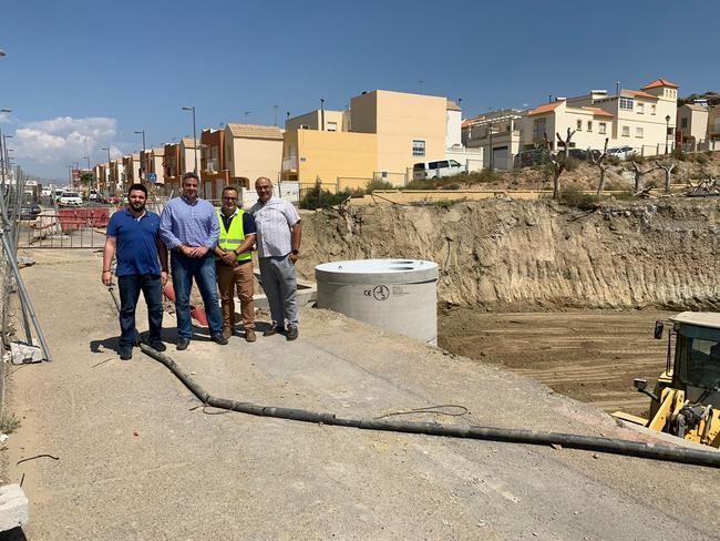 El Ayuntamiento de Viator ultima el desvío de la acequia para la construcción del nuevo colegio
