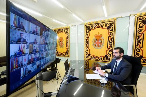 """El alcalde exige a Sánchez """"más ayudas a los ayuntamientos y menos discursos"""" ante el #COVID19"""