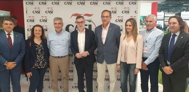 """Villegas (Cs): """"Almería vuelve a demostrar su potencial en Fruit Attraction"""""""