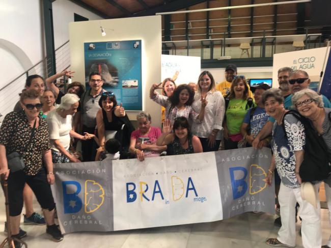 La Asociación Brada visita la Villa de Níjar