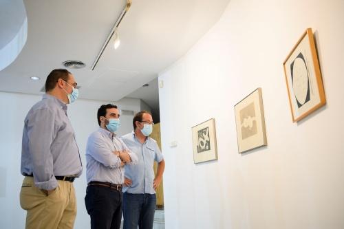 Exposición dedicada a José Ángel Valente en Espacio 2