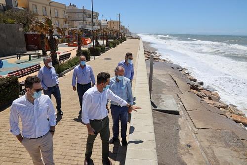 El PP ve insuficiente la aportación de arena en las playas de Guardias Viejas y Balerma