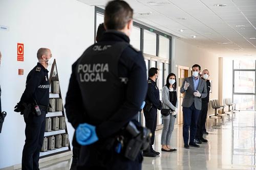 12 nuevos policías locales en las calles de Almería como funcionarios