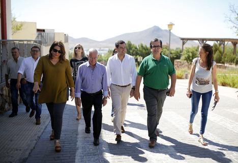 Moreno Bonilla denuncia la pésima gestión que hace la Junta de Cabo de Gata