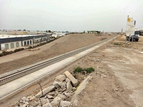 Adif AV ultima las obras de integración ferroviaria del Puche en Almería