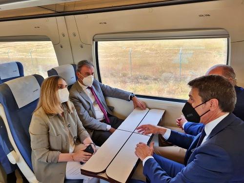 Marifrán Carazo pide un pacto por el ferrocarril