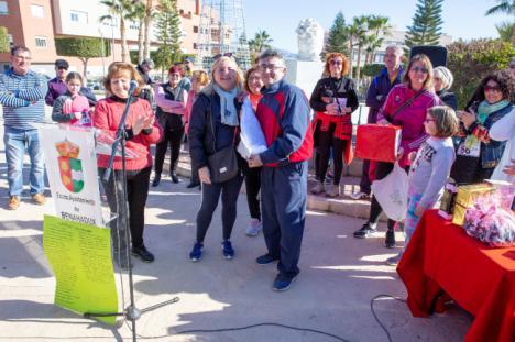 300 vecinos en la VI Carrera Solidaria contra el cáncer de Benahadux