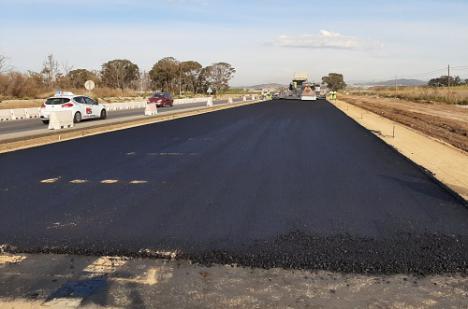 La duplicación de la carretera Vera-Garrucha obliga a desviar el tráfico el lunes