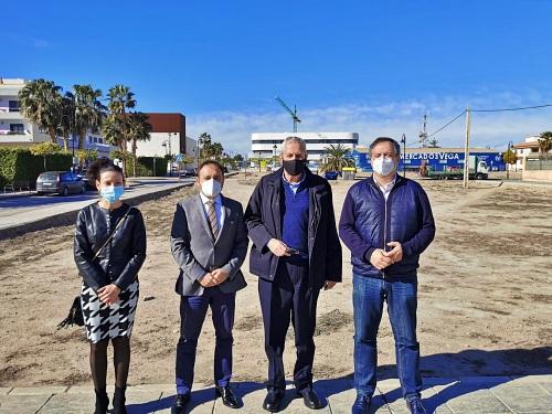 Justicia y Ayuntamiento de Vera trabajan en la cesión de un solar para sede judicial