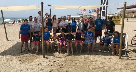 La Asociación Dárata vuelve a elegir las playas de Roquetas para celebrar su 'Verano Pictodivertido'
