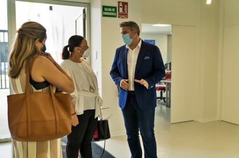 La Diputación de Almería se presenta como clave en la candidatura de Viator a 'Villa Europea del Deporte 2022'