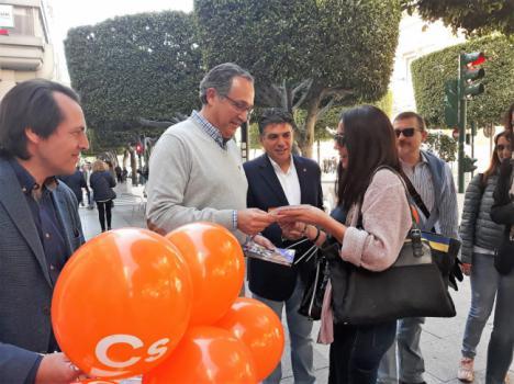 """Vicente García: """"Ciudadanos acabará con los contratos basura"""""""
