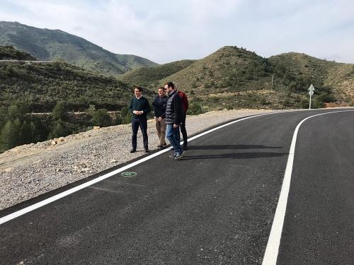 Diputación culmina la carretera que une Albanchez con Lubrín