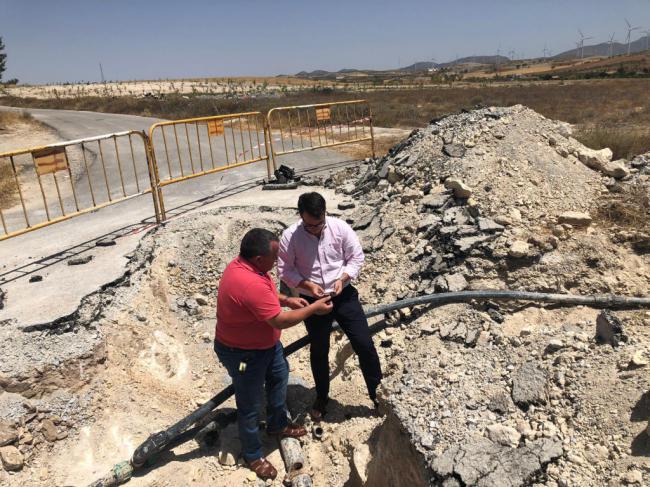 Diputación ayudará a Alcóntar a sustituir las tuberías que garantizan el agua en Hijate