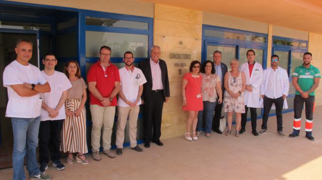 Refuerzo sanitario en Vera Playa con el consultorio de Puerto Rey