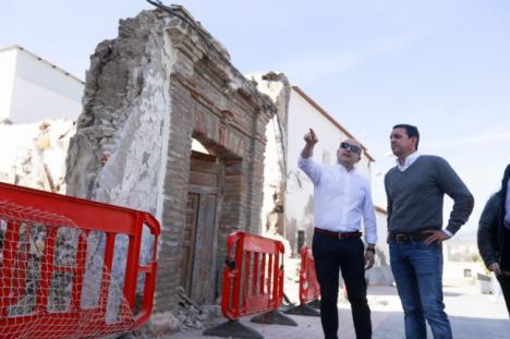 Diputación apuesta por la recuperación del emblemático Palacio del Rey Chico de Fuente Victoria