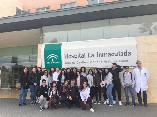 250 personas conocen el hospital La Inmaculada con visitas guiadas