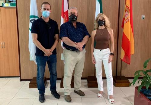 El presidente autonómico de CSIF Justicia visita Almería