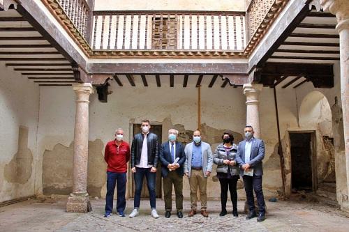 El subdelegado del Gobierno visita las obras del PFEA que se realizan en Fuente Victoria