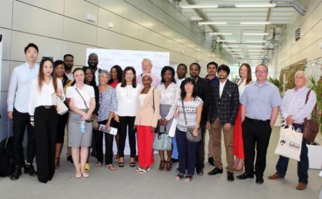 El PITA muestra a los alumnos de la Universidad de Salford su modelo empresarial