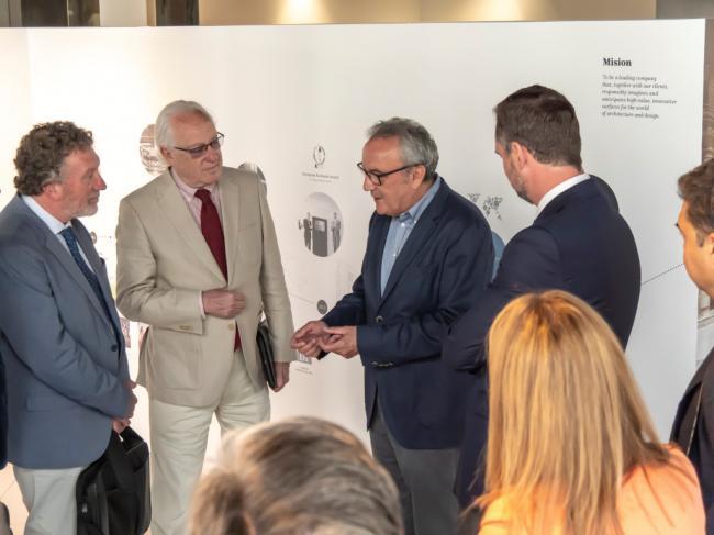 Cosentino muestra al Viceconsejero de Fomento sus planes de inversión en Cantoria